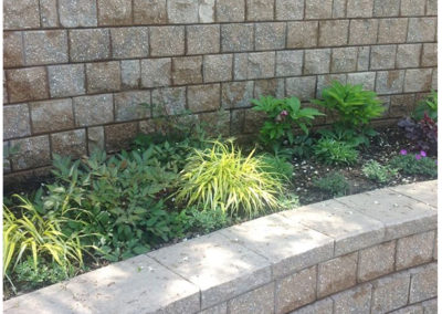 Double Retaining Wall
