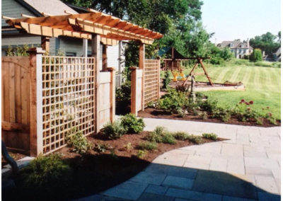 Pergola with Patio